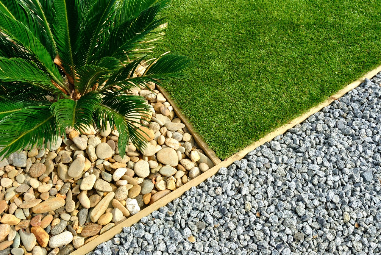 Landscaping On A Budget Grass Rocks