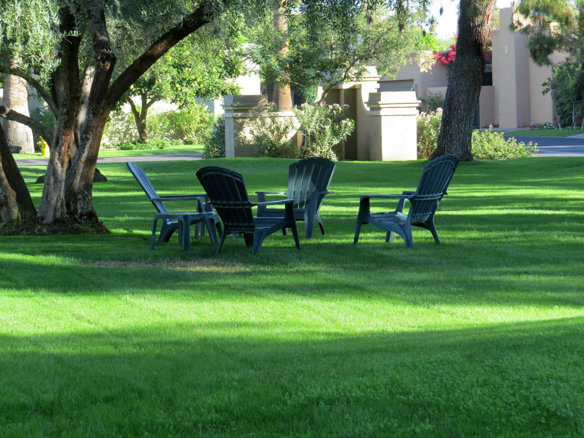 Lawn Maintenance Grass Chairs