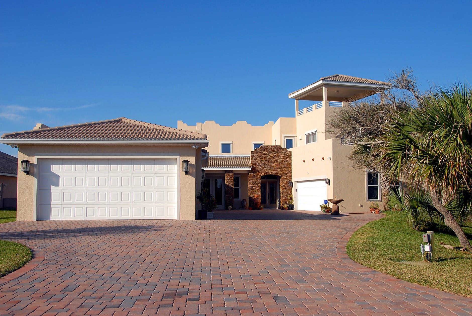 House Exterior Yard Leveling