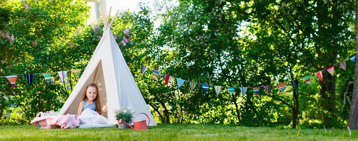 Safe Plants Around Children Tent